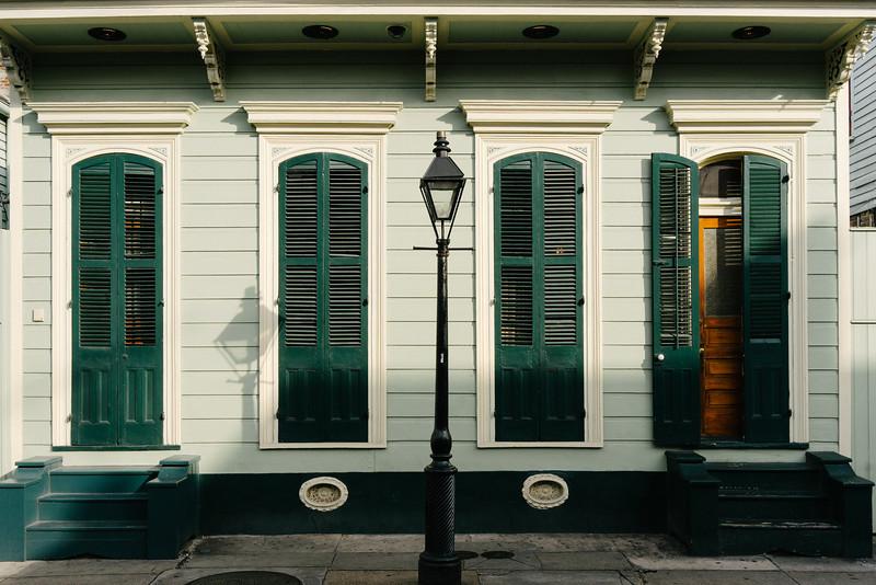 Green Shutters - Green House