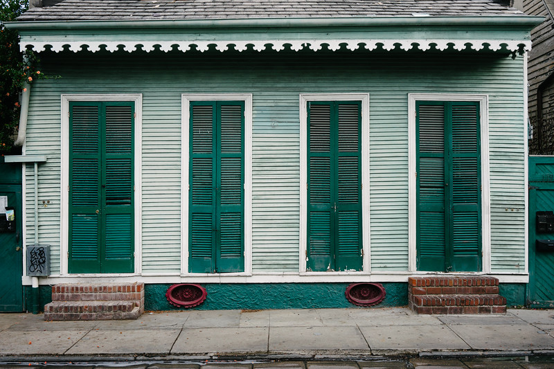 Green House in New Orleans