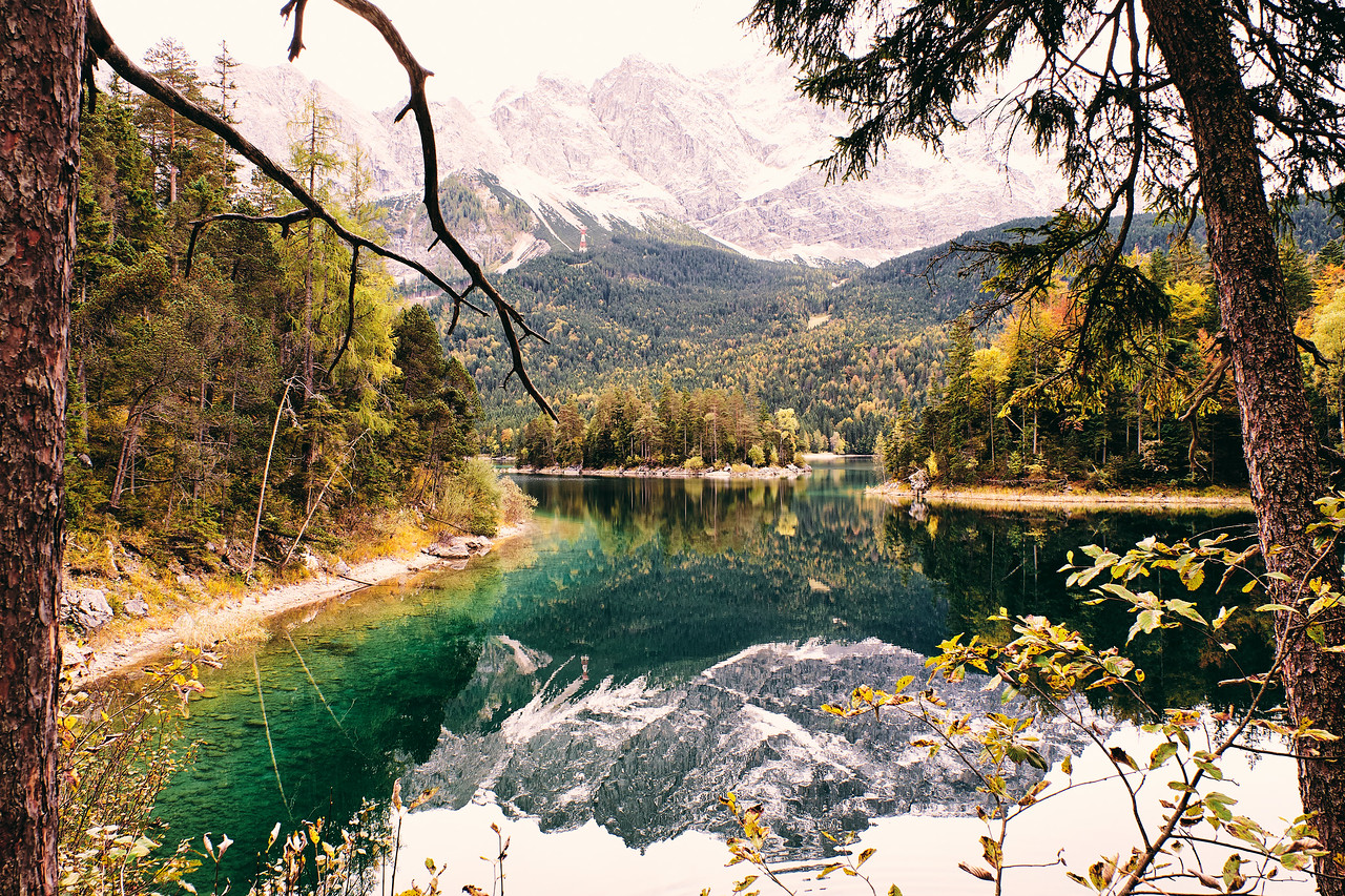 Zugspitze - winter is coming