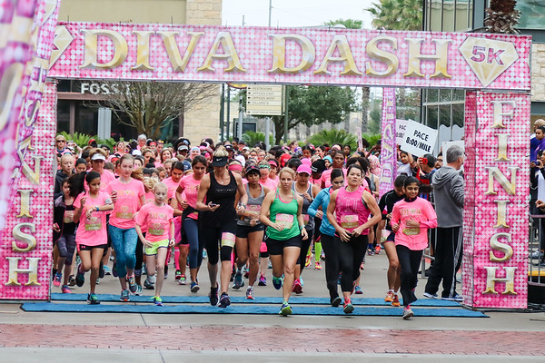 Diva Dash 2017 Houston, Tx.