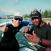 J-Boy and I on the dive boat
