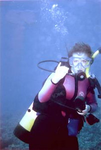 """HONUDIVR"" (Sis Laura diving on Maui)"