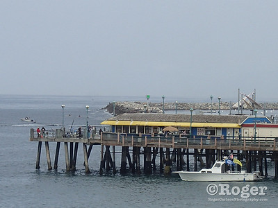 The Island Diver dive boat at the pier, Coastal Cleanup Day, underwater cleanup at the Redondo Pier and Veteran's Park.