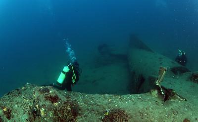 PLANE 1 ( Allan ) Cochrane Artificial Reef, Queensland, Australia