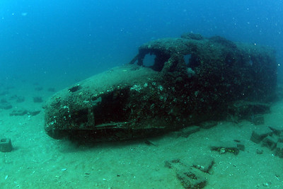 PLANE 3 ( Kingair ) Cochrane Artificial Reef, Queensland, Australia