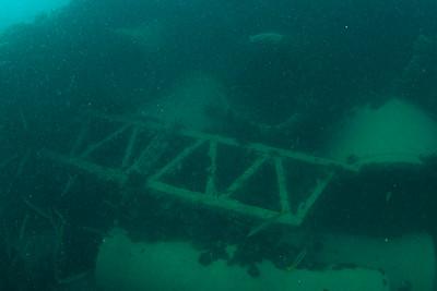 STEEL BARGE ( Porteur ) Cochrane Artificial Reef, Queensland, Australia
