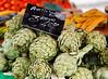 marché, légumes, oeufs, fruits