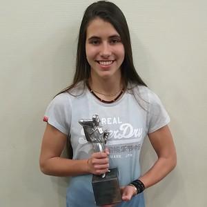 Cassandre Evans - Trophée sportif 2016 de la Ville de Huy