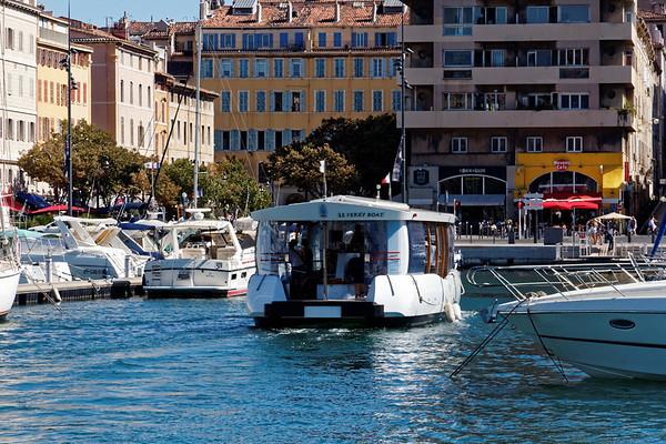 Marseille : Vieux Port, Le Ferry Boat