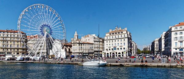 Marseille : Vieux Port, Canebière