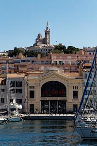 Marseille : Vieux Port, La Criée & ND de la Garde