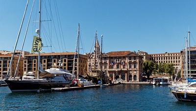 Marseille : Vieux Port, la Mairie