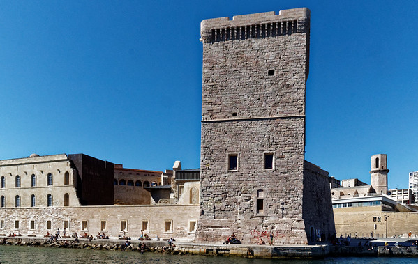 Marseille : Fort St Jean