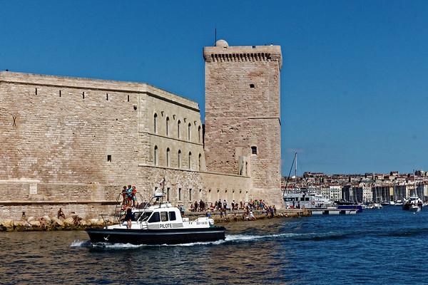 Marseille : Fort St Jean