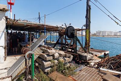31-07-15 Visite au Calen de Port de Bouc - L'installation