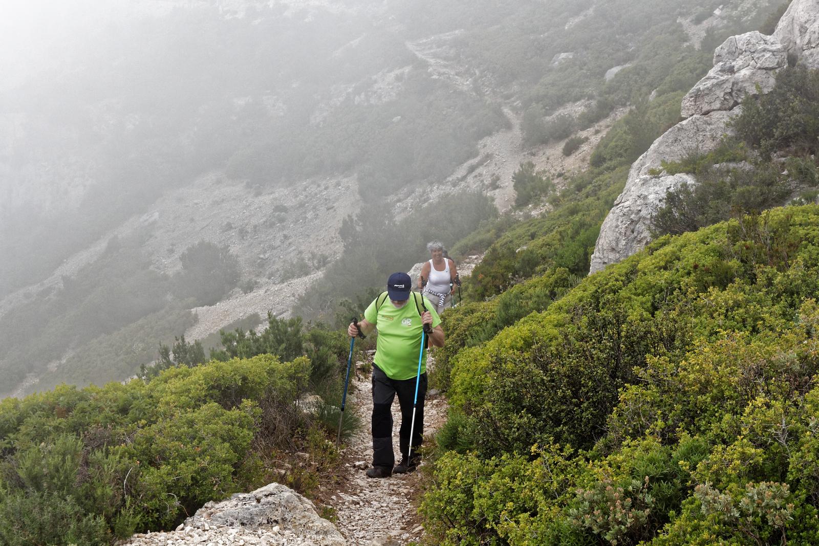 13-05 Calanques - Sentier bleu de la crête de Morgiou