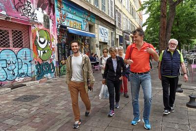 11-05 Visite de Marseille  - Cours Julien