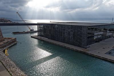 11-05 Visite de Marseille  - Fort St Jean - MUCEM