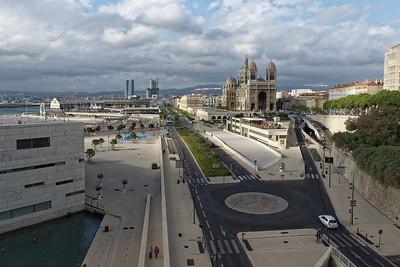 11-05 Visite de Marseille  - Fort St Jean - Esplanade des Docks