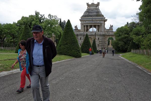 11-05 Visite de Marseille  - Palais Lonchamp