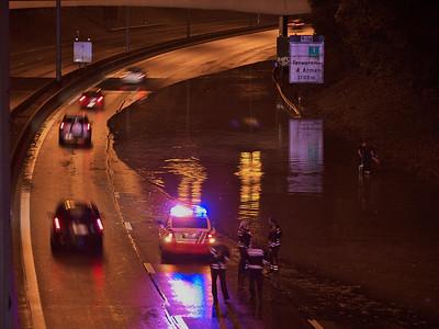 Ring de Bruxelles - Wezembeek-Oppem - Inondation - 7/10/2009