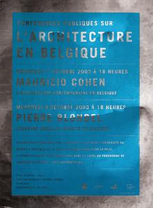 Stéphane Halmai-Voisard, L'ARCHITECTURE EN BELGIQUE, 2003