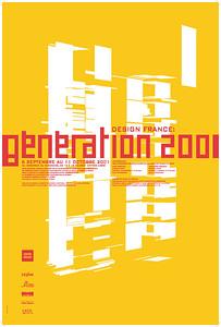 Alexandre Renzo, DESIGN FRANCE – GÉNÉRATION 2001, 2001