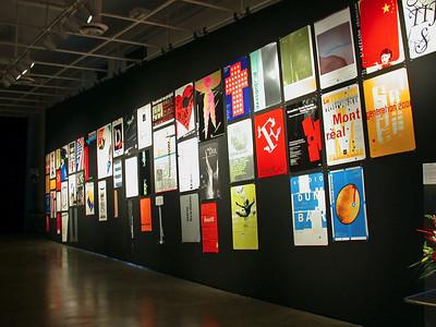 UQAM 2002, Fête du recteur, Exposition des affiches du Centre