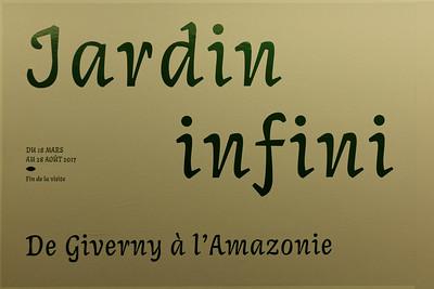 Niveau 2 - Jardin infini - Giverny à l'Amazonie
