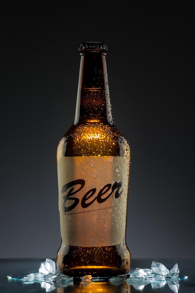 Bière glacée