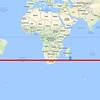 30 degrés de latitude sud