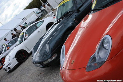 Porsche et les virades