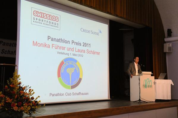 Panathlon Preis 2011 (01.03.2012)