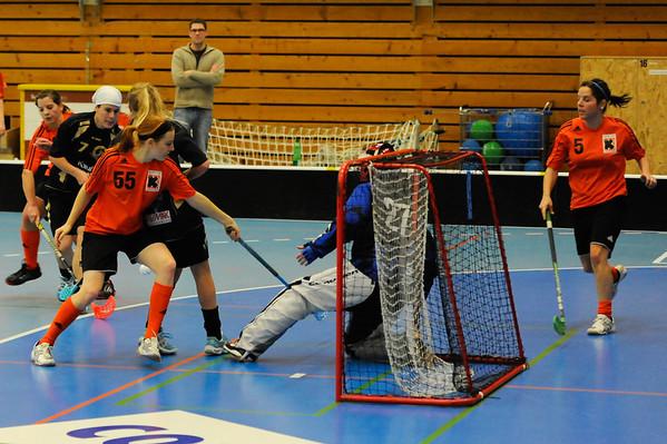 Unihockey: UHC Nesslau Sharks - Kadetten SH Unihockey 3:2