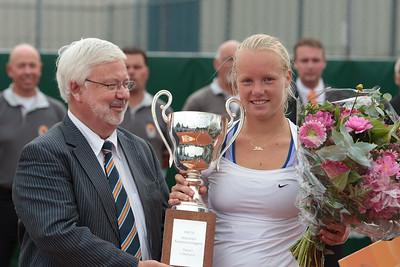 Kiki wint NK Tennis 2010