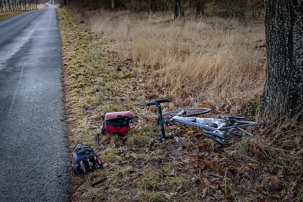 Cykeltur på den smukke rute mellem Resenbro og Lauerbjerg