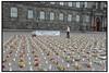 AIDS minde demo foran Christiansborg.  Foto: Torben Christensen  København ©