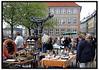 Loppemarked på Gammel Strand.  Foto: Torben Christensen  København ©.  Foto: Torben Christensen  København ©