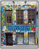 Butikker i København 2004 Tatoveringsbutik.  Foto: Torben Christensen  København ©