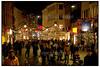 Juletravlhed på Strøget 2004.  Foto: Torben Christensen  København ©