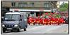 Gruppen Forsvar Christiania Initiativet arrangerede lørdag maj 22.2004 en stor demonstration fra Christiania gennem det indre København med afslutning på Christiansborg. Her er demonstrations fortrop på Langebro..  Foto: Torben Christensen  København ©