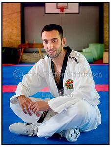 danske medaljehåb i taekwondo Zakaria Asidah og Jesper Roesen 2004