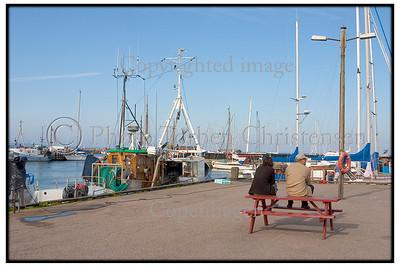 Fiskekuttere i Gilleleje havn 2004