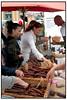 Italiensk marked ved Thorvaldsens Museum.  Foto: Torben Christensen  København ©