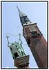 Rundetårn og Lurblæserne juli 2005. Foto: Torben Christensen  København ©