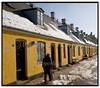 Bygninger i Brede i Sne. Foto: Torben Christensen  København ©