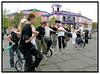 DM i Indsamling i Circusbygningen  08-05-2005 Landsholdet i ethjulet cykel. Foto: Torben Christensen  København ©