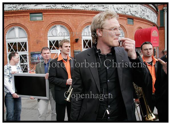 DM i Indsamling i Circusbygningen  08-05-2005 Doctor Pjuske busk og Bennu Schumann. Foto: Torben Christensen  København ©