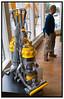 """Dyson DC15 Støvsuger med kuglehjul og uden poser, i England kaldet """"The Ball"""" er den mest solgte i bl.a. USA, England, Spanien . Foto: Torben Christensen  København ©"""