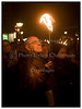 Fakkeltog i København onsdag 9. november 2005 i anledning af 67 - året for Krystalnatten. Fakkeltoget gik fra Nytorv til Rådhuspladsen i København. Som startskud til holocaust dræbte nazisterne i Krystalnatten den 9. november 1938 over 100 jøder og deporterede 26.000 andre til koncentrationslejre. (Foto: Torben Christensen / Scanpix 2005) . Foto: Torben Christensen  København ©